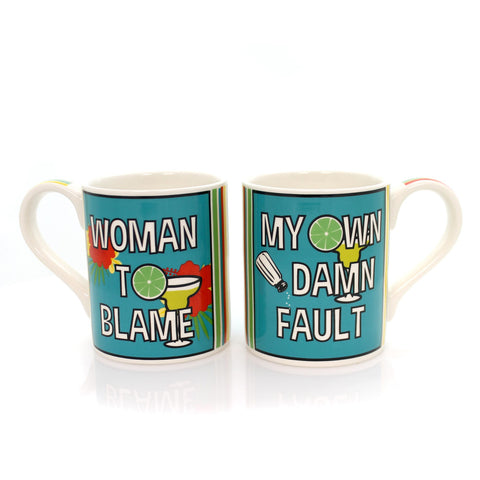 Tabletop Woman To Blame Mug Set Mug / Coffee Cup 34030