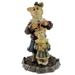 Boyds Bears Resin Momma Purrsley & Claudia Figurine