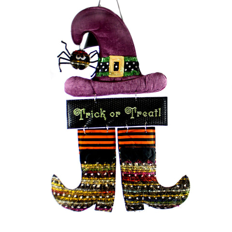Halloween Witch Burlap Door Decor Halloween Door Decor 34282