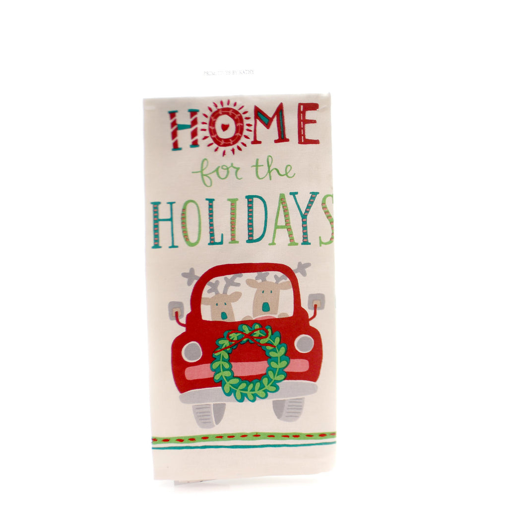 Christmas Home For Holidays Dish Towel Decorative Towel