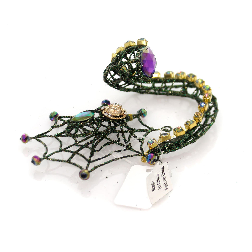 Halloween Spider Web Bottle Charm Halloween Tabletop