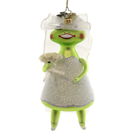 Christopher Radko Hoppily Ever After Glass Ornament 346