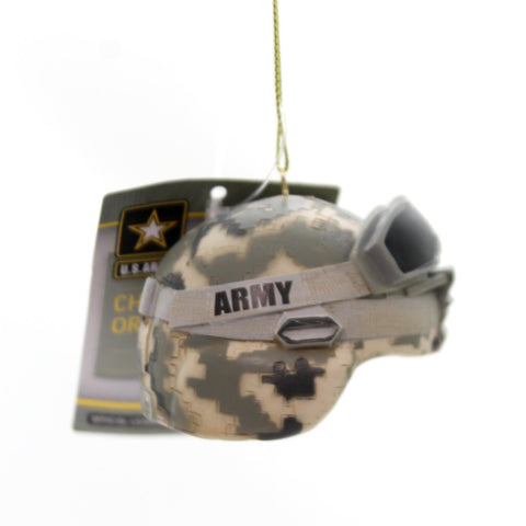 Holiday Ornaments ARMY COMBAT HELMET Polyresin Camouflage Ornament Am2131 34709