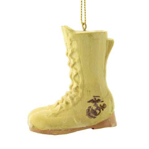 Holiday Ornaments MARINE CORP BOOTS Military Ornament Patriotic Mc2161 34711