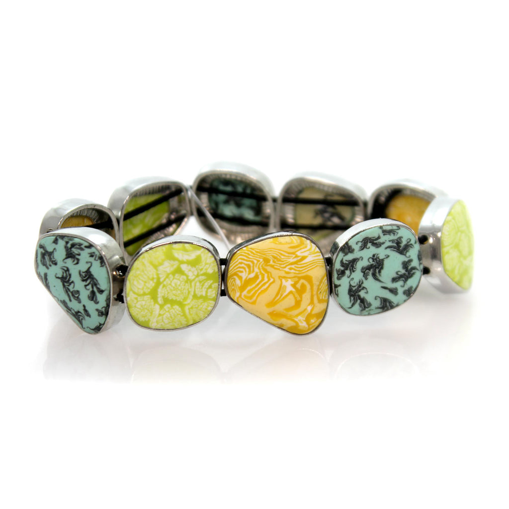 Jewelry Green Envy Pebble Bracelet Bracelet