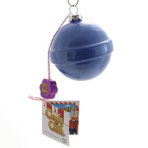 Holiday Ornaments Candy Crush Blue Candy Ornament Glass Ornament 35574