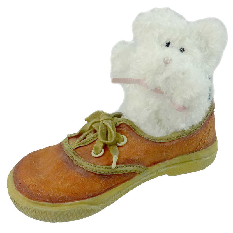 Boyds Bears Resin Suzie My First Sneakers Figurine