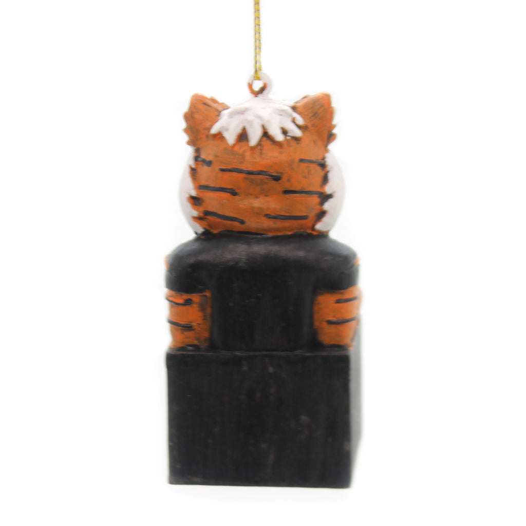 Holiday Ornaments Cincinnati Bengals Mascot Resin Ornament