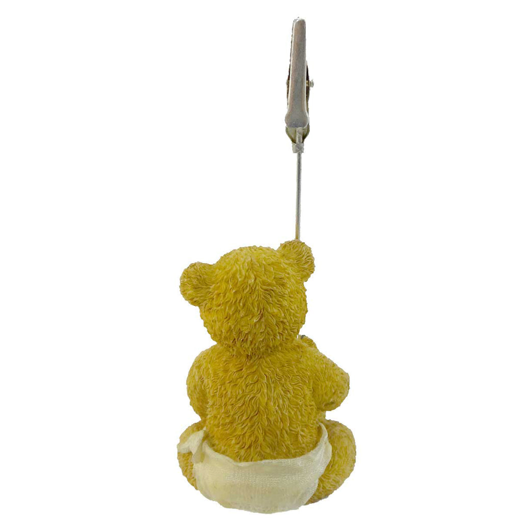 Boyds Bears Resin Binkie Photo Holder Figurine