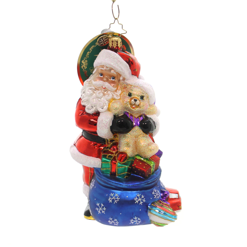 Christopher Radko The Best Medicine Glass Ornament