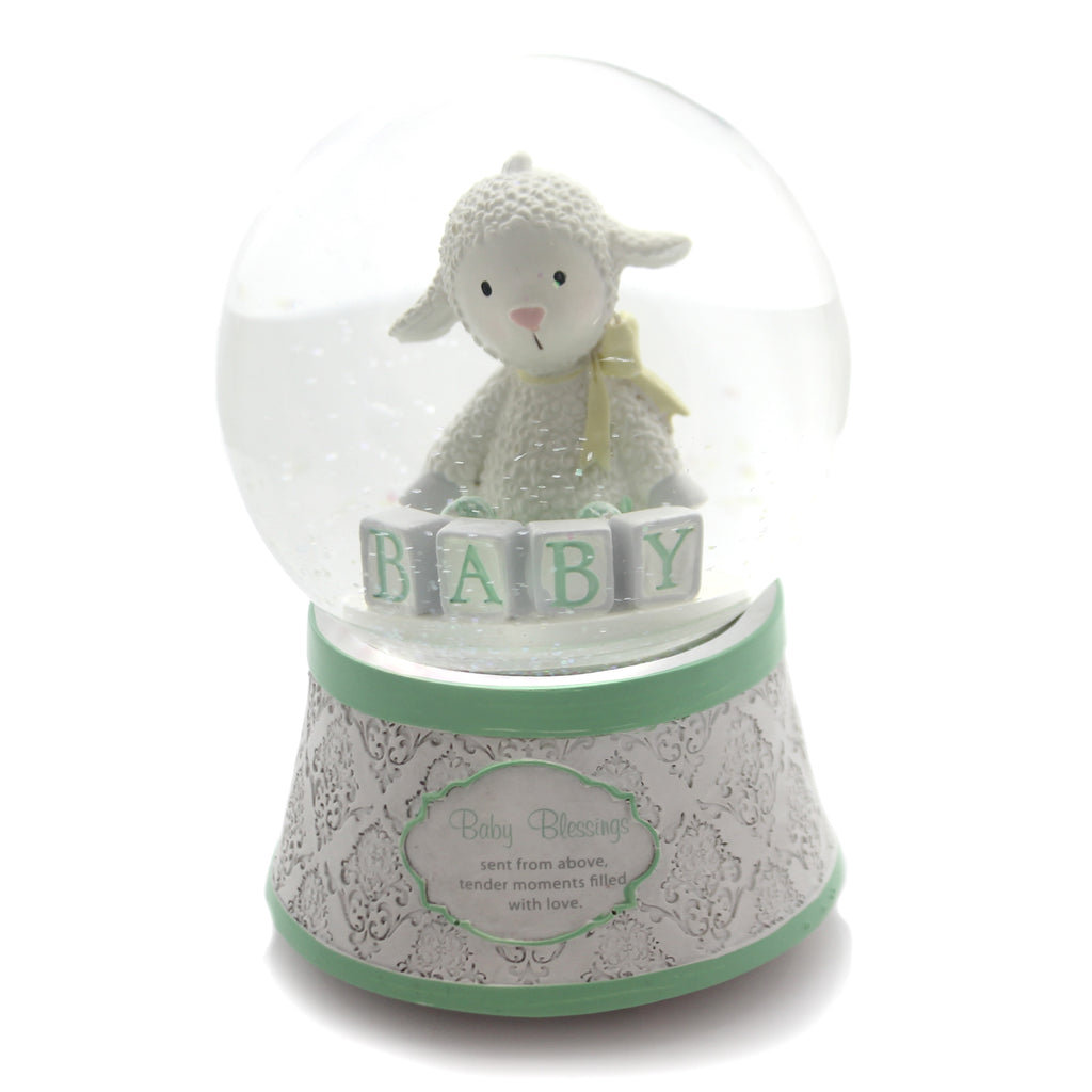 Child Related Lamb Water Globe Snow Globe / Water Globe