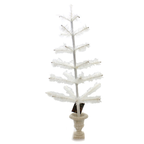 Easter Ivory Feather Tree In Urn Base Easter Decor 36205