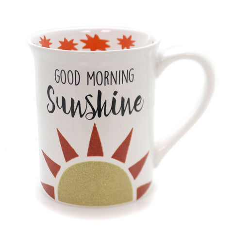 Tabletop MORNING SUNSHINE GLITTER MUG Ceramic Our Name Is Mud 6001220 36229