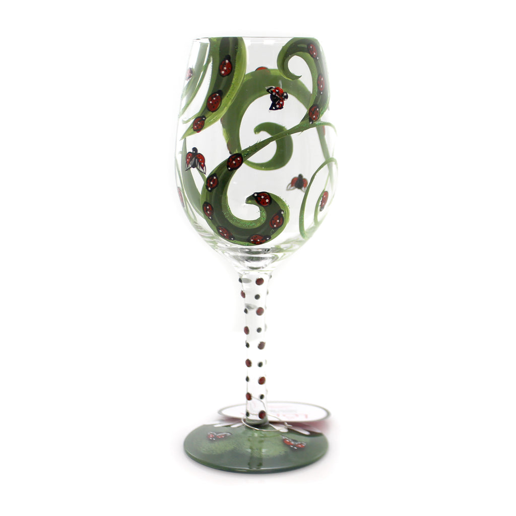 Tabletop Ladybug Lolita Wine Glass Tabletop