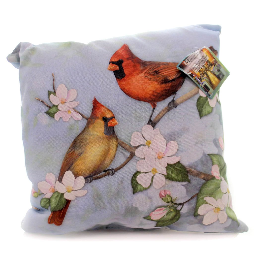 Home & Garden Spring Cardinal Pillow Accent Pillow