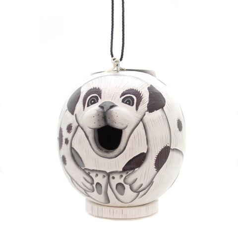 Home & Garden MUTT GORD-O BIRDHOUSE Wood Albesia Wood Hand Painted Se3880071 36436