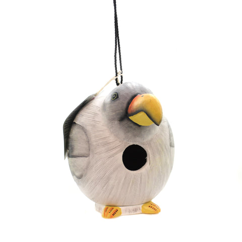 Home & Garden SEAGULL GORD-O BIRDHOUSE Wood Albesia Wood Hand Painted Se3880030 36437