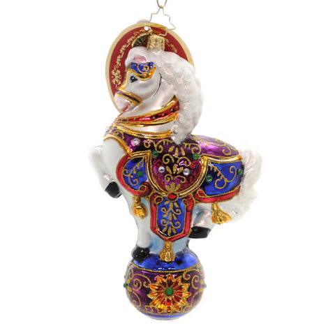 Christopher Radko Renaissance Ride Glass Ornament 36461