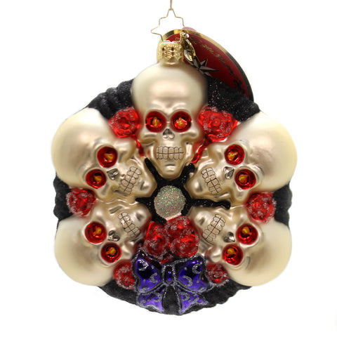 Christopher Radko Spooking Around Glass Ornament 36469