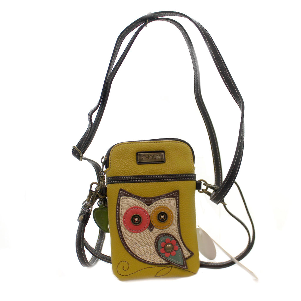 Handbags Owl Cell Phone Xbody Handbag / Tote