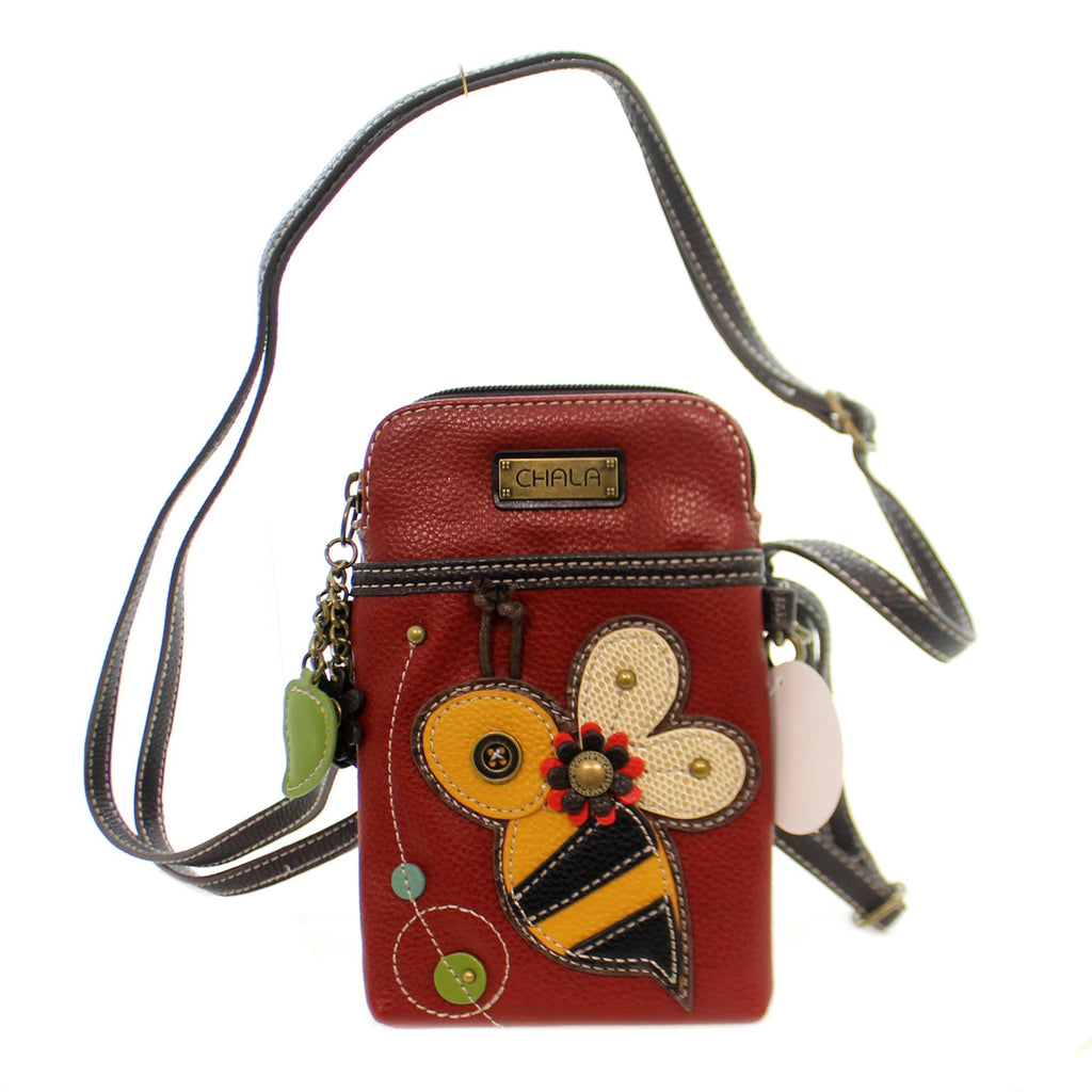 Handbags Bee Cell Phone Xbody Handbag / Tote