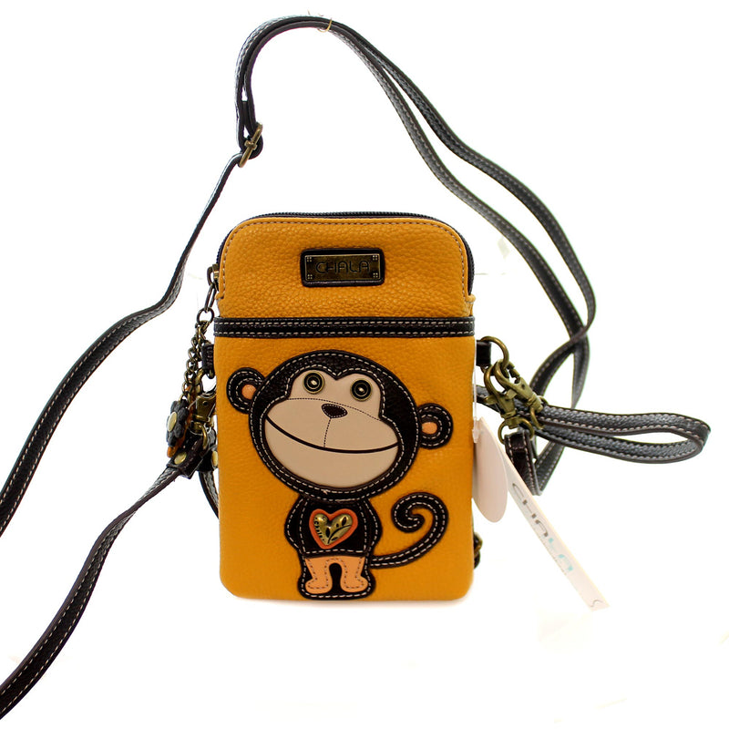 Handbags Monkey Cell Phone Xbody Handbag / Tote