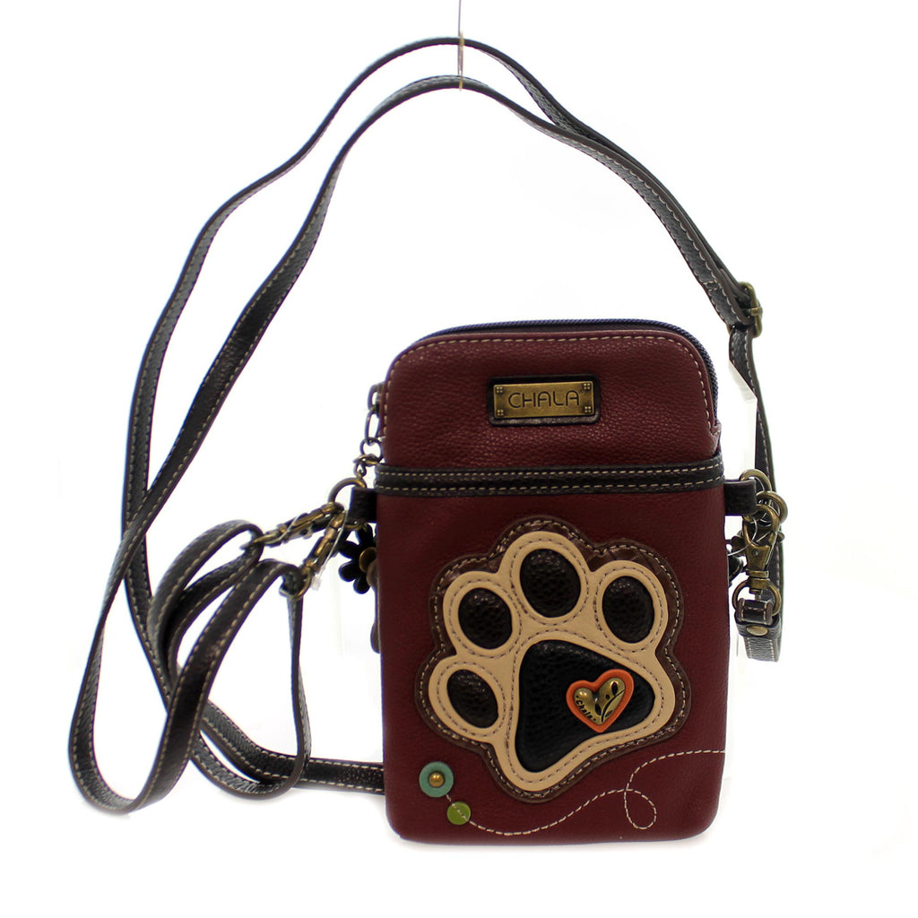 Handbags Paw Print Cell Phone Xbody Rd Handbag / Tote