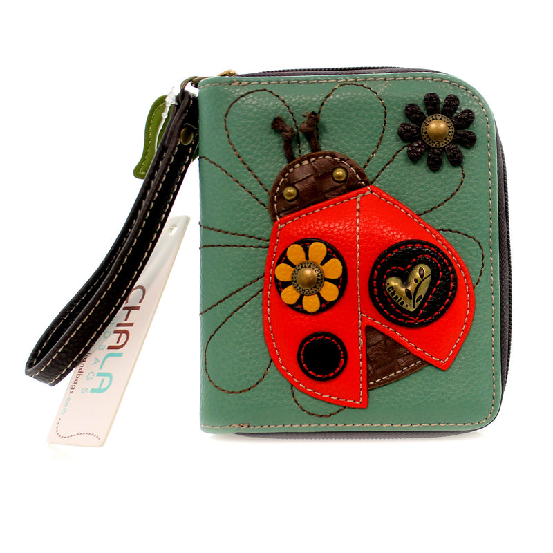 Handbags Ladybug Zip Around Wallet Handbag / Tote