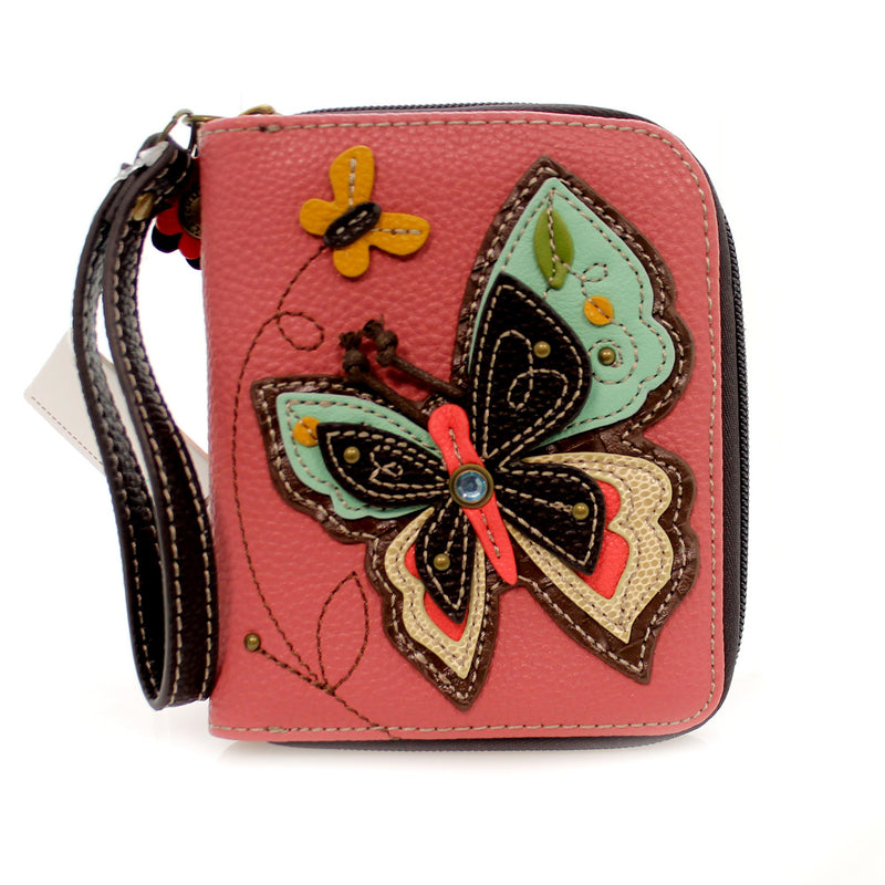 Handbags Butterfly Zip Around Wallet Handbag / Tote