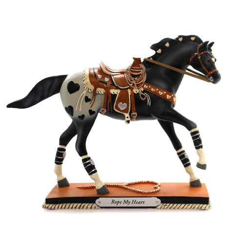 Trail Of Painted Ponies Rope My Heart Figurine 36643