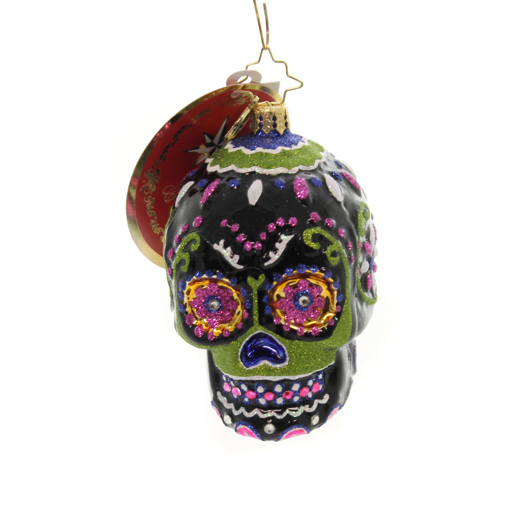 Christopher Radko Drop Dead Gorgeous Little Gem Glass Ornament