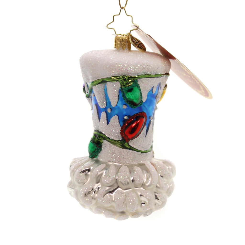 Christopher Radko Top Hat Of His Class Glass Ornament