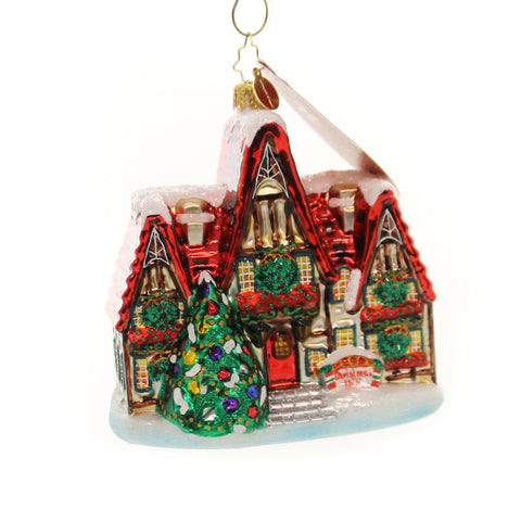Christopher Radko A Stately Stop Glass Ornament 36670