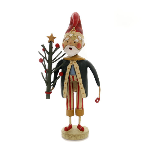Lori Mitchell TREE OF LIFE SANTA Polyresin Christmas Holiday 11018 36694