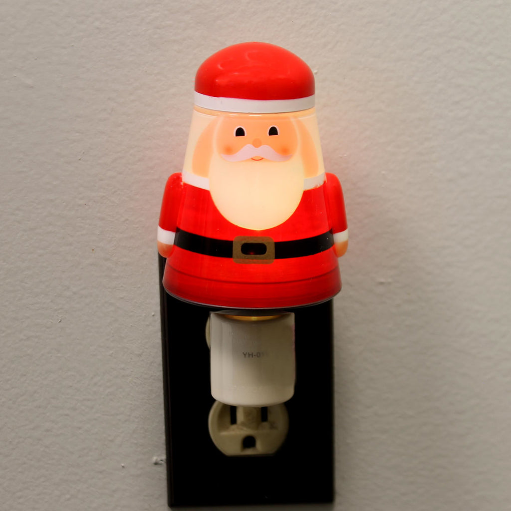 Christmas SANTA ACRYLIC NIGHTLIGHT Acrylic Color Change Light 156694