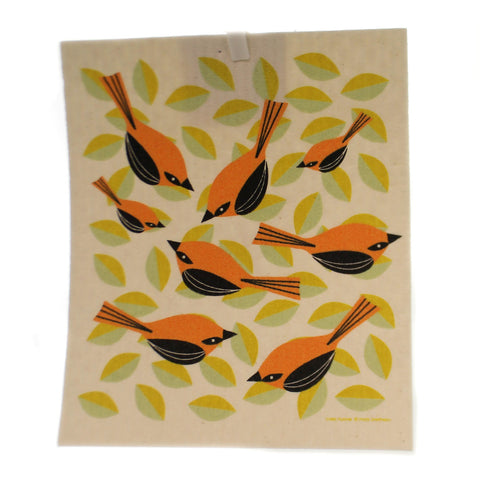 Swedish Dish Cloth ORIOLES Fabric Absorbent 21971 36712