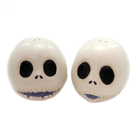 Disney JACK SKELLINGTON SALT & PEPPER Ceramic Tim Burton 6001018 36862