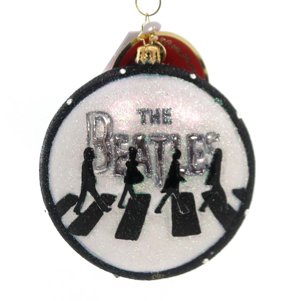 Christopher Radko ABBEY ROAD CHRISTMAS Glass The Beatles 1019341