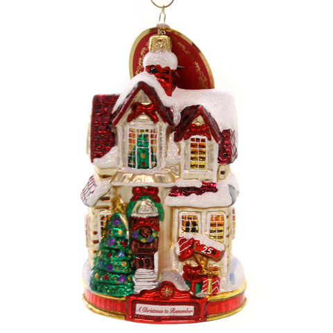 Christopher Radko I'LL BE HOME FOR CHRISTMAS Ornament Remember 2018 New 1019586 36989