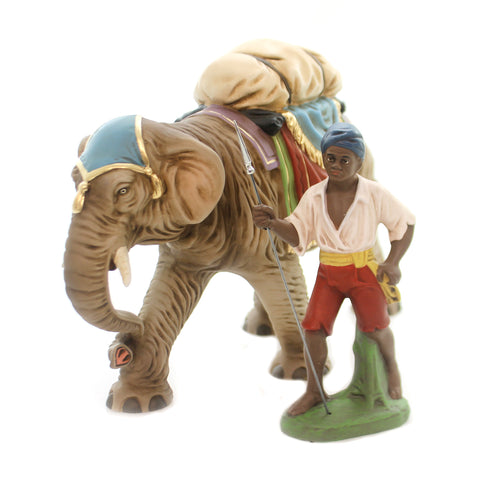 Marolin ELEPHANT / LUGGAGE & DRIVER ST2 Nativity Germany Christmas 20860 36999