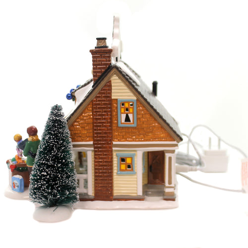Department 56 House THE TOY HOUSE BOX SET Snow Village Christmas Lane 6000633