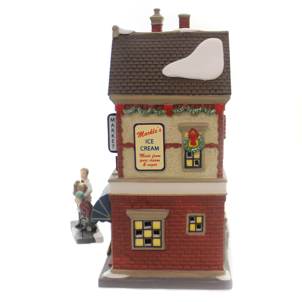 Department 56 House LUNDBERG FOODS BOX SET Christmas In The City 6000571