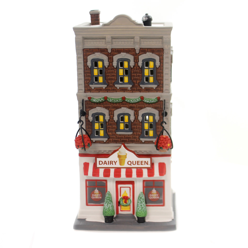 Department 56 House DOWNTOWN DAIRY QUEEN Christmas In The City 6000573