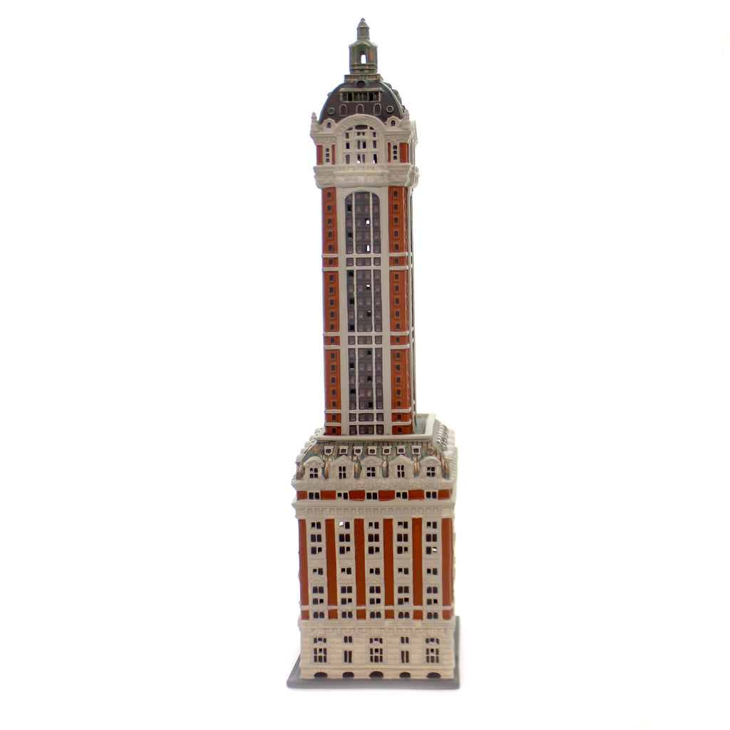 Department 56 House THE SINGER BUILDING Porcelain Christmas In The City 6000569
