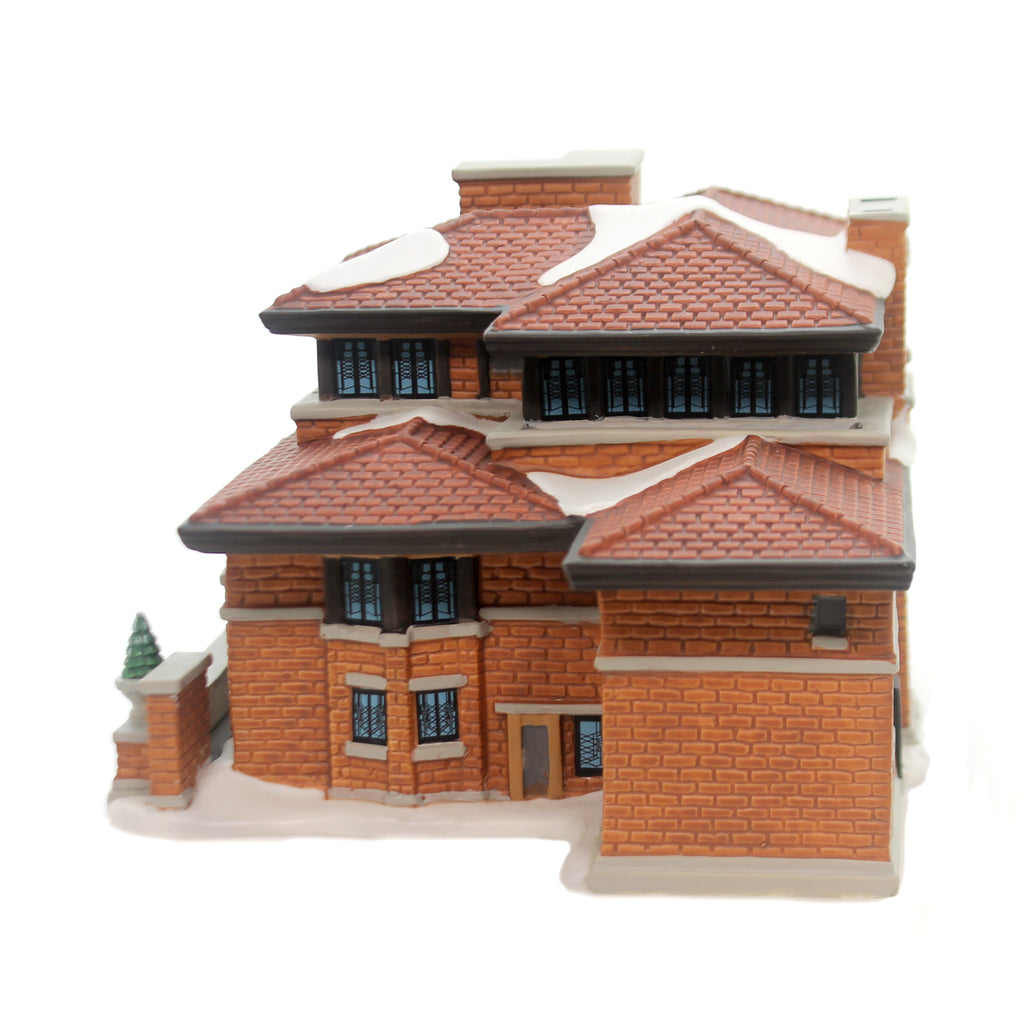 Department 56 House FRANK LLOYD WRIGHTS ROBIE HOUSE Art Architecture 6000570