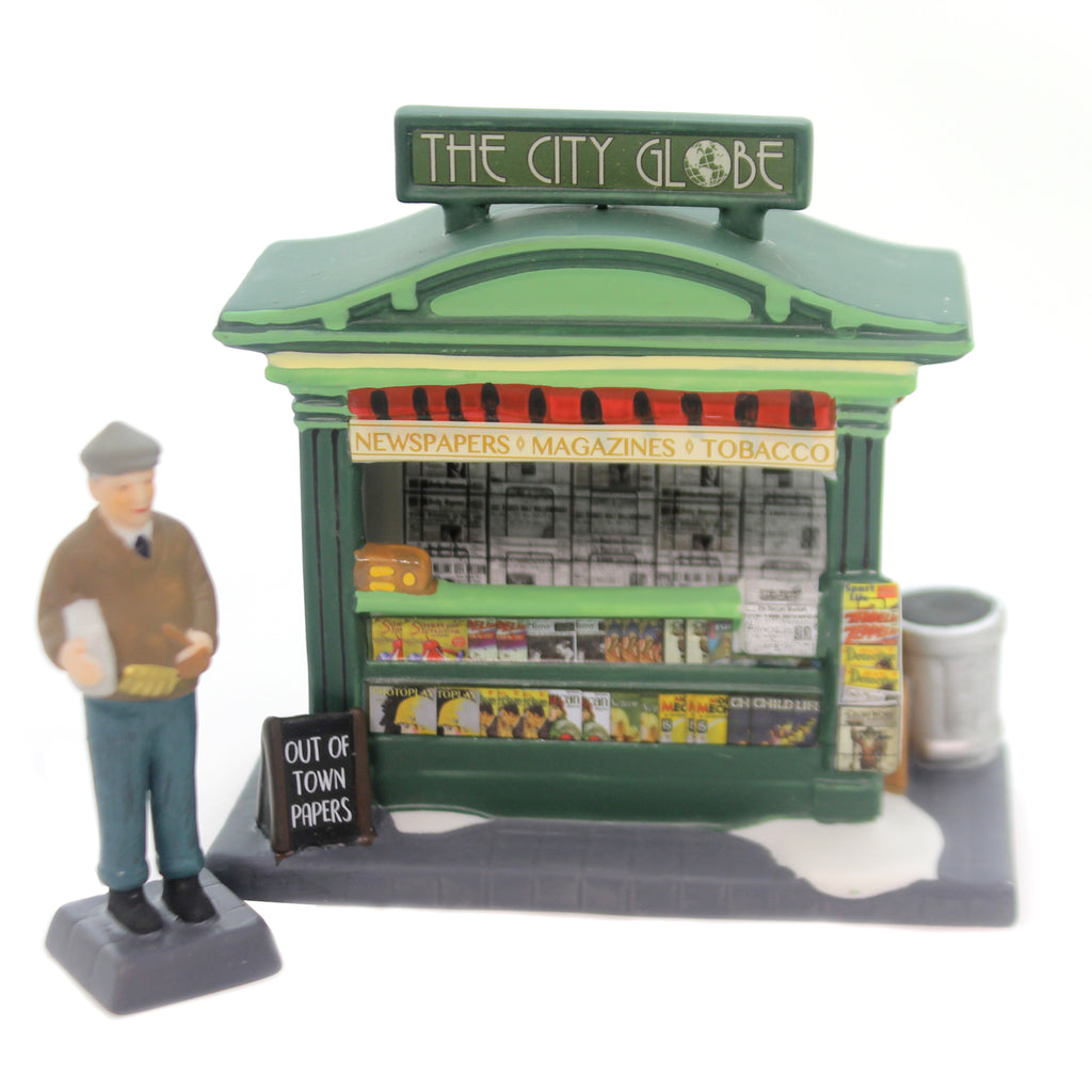 Department 56 Accessory CITY NEWS, EVENING EDITION Christmas In The City 6000579