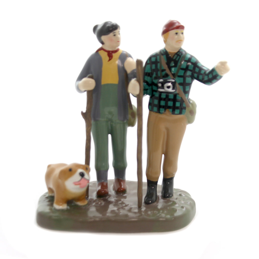 Department 56 Accessory TREKKING THE BACKCOUNTRY Ceramic Snow Village 6000643