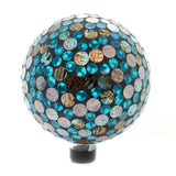 Home & Garden COPPER OCEAN MOSAIC GAZING BALL Glass Yard Decoration 65790