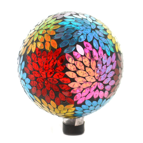 Home & Garden PRISMATRIC PETAL GAZING BALL Glass Yard Decoration Mosaic 65792 37123