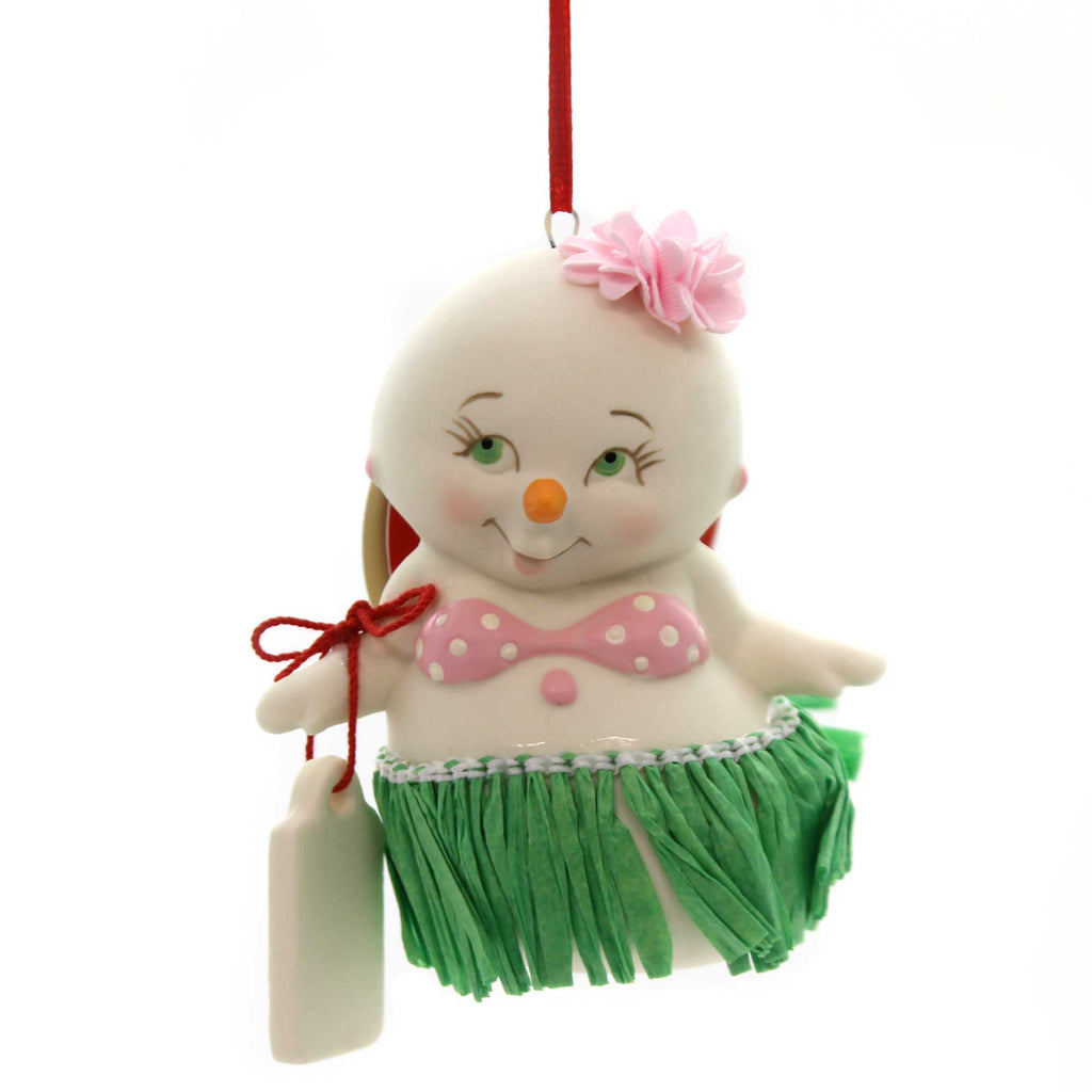 Holiday Ornaments BIKINI BOTTOM SNOWPINION Porcelain Department 56 6000912